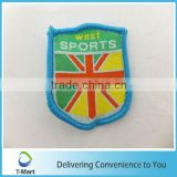 New design Embroidery Badge/Sticker/patch design woven label for clothings, bags, and garments