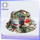 Wholesale Alibaba Produt Cute Cotton Sublimation Bucket Hat / Full Sublimation Bucket Hat