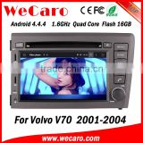 Wecaro WC-VL7060 Android 4.4.4 car dvd player quad core for volvo v70 navigation stereo tv tuner 2001-2004                                                                         Quality Choice