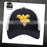 Factory customized trucker hat 6 panel 3d embroidery wholesalel hats