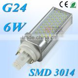 LED G24 PL SMD 3014 6W Corn Lamp 55 LEDs