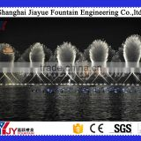 chinese large Outdoor dancing Fountain, built in lake with light and music