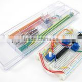 Solderless Breadboard Jumper Wire Kit, 140pc, DIY, electronics prototype
