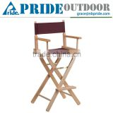 Wooden Furniture Designs Modern Outdoor Cheap Camping Canvas Folding Wooden director chair                                                                         Quality Choice