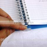 light weight clear plastic book cover clear file at reasonable prices OEM