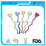 Custom disposable heart shape drink stirrer                                                                         Quality Choice