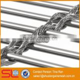 MULTI-BARRETTE 8123 Curtain wall woven wire fabric/for walls/solr shadding/stainless steel