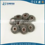Durable using clean rush stainless steel wire round brush used in Carbon sulfur analyzer