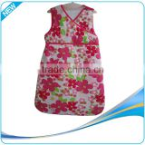Soft sleeveless adult baby sleeping bag