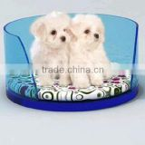 factory directly sale customized acrylic cute dog beds