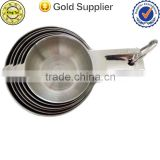 alibaba supplier set of 6 nesting stainless steel metal measuring cup                                                                         Quality Choice
