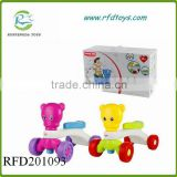 Fashion plastic hot ride on cars baby walker wheels