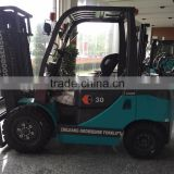 China supplier 3 ton LPG/CNG Forklift Trucks for sale with Chinese/Japnese gasoline engine