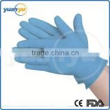 powdered/powder free disposable medical nitrile gloves for Examination,Food,Lab,Industry with CE,FDA