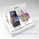 Acrylic material counter top acrylic mobile phone display/acrylic cell phone display