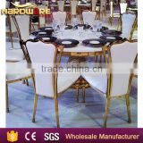 modern high back wing chair, upholstered hotel dining chairs,hotel dining gold chairs