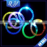 Colorful Plastic Bangles LED Flashing Body Jewelry with Factory Price