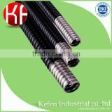 Galvanised flexible fire resistant pipe plastic conduit