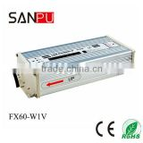 SANPU 2013 hot selling CE ROHS OEM FX 60W 15V led driver case lamp transformer variable frequency ac power supply