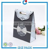 Accept customized 250g white paper full color printing exquisite mini wedding candy packaging boxes