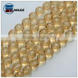 Native American Costumes Bead Faceted Crystal Glass Beads latest design wholesale beads for colthes