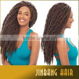 2016 Hot Selling Products 2X Havana Mambo Twist Crochet Braids With Synthetic Hair