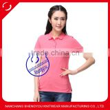 women basic polo shirt manufactures in china