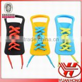 Fashion&safety&water resistant elastic shoelace with lock