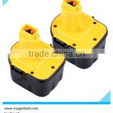 nicd rechargeable battery Power tool battery For Dewalt ni mh 12v for DE9075 DE9501 DW9071