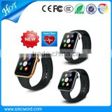 2015 New Arrive 1.54 inch SmartWatch For iPhone android A9 Bluetooth Heart Rate Monitor Wrist Smart Watch Bluetooth