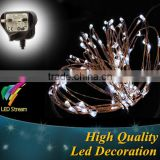 1m 2m 3m 5m 6m 8m 10m 20m LED garland wedding light dimmable home garden tree party decorative string lights