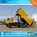 China cheap price 15 Ton 6*4 DF3208 self loading dump truck