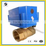DC5V brass angle ball Valve electric control for Water cycle system, garden hose