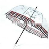 Clear PVC Material Material and Umbrellas Type PVC Kids Bubble Umbrella TRANSPARENT POE MANUAL OPEN UMBRELLA