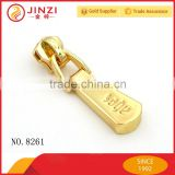 High quality custom metal handbag logo zipper puller                                                                         Quality Choice