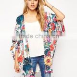 Lightweight chiffon Fabric Type and Adults Age Group fringe kimono / Casual Style JAPANESE KIMONO