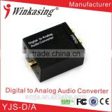 Multi-function DC 5V audio digital to analog L/R audio converter YJS-D-A