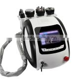 Skin Care 5in1 Cavitation Ultrasound+ Lipo Fat Freezing Laser+vacuum+ Bipolar RF Weight Loss Machine TPS-01