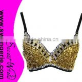Sequin Bra, Handmade Bra, Belly Dance Bra M5271