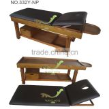332Y-NP Solid wood bed/Wooden spa salon oil sex bed thai massage/Massage table/Massage bed