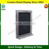 Wall Mounted Decorative Rustic Style Wood Framed Chalkboard Memo Message Board / Erasable Store Sign YM5-1111