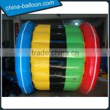 New product colorful inflatable water roller/ inflatable water wheel for summer water sport