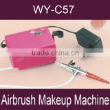 Hot!!! Airbrush makeup machine/ Air makeup kit