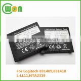 rechargeable CW-LGL-LL11CAC battery for Logitech L-LL11 NTA2319 831409 831410, G7 laser replacement battery 3.7V 750mAh