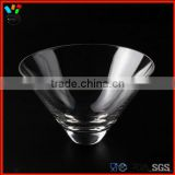 Glass Drinkware Type And Shot Glass Type Wholesale Hand Made Stemless Martini Glass