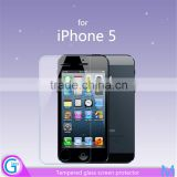 Wholesale Price!!2.5D Round Edge Full Size Cover Tempered Glass Screen Protective Film For iPhone5/5s