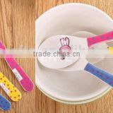 Children plastic mini spoon
