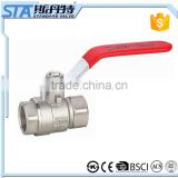 ART.1009 DN10 DN65 DN80 Two-Piece Female NPT Brass Ball Lever Shut Off Valve Water/Air/Pneumatic/Fluid 600WOG Water Oil Gas Air