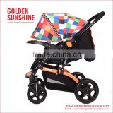 Baby Stroller With Full Canopy And Reversible Handle