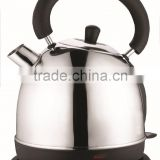 heating element cordless stainless steel electric kettle with thermometer